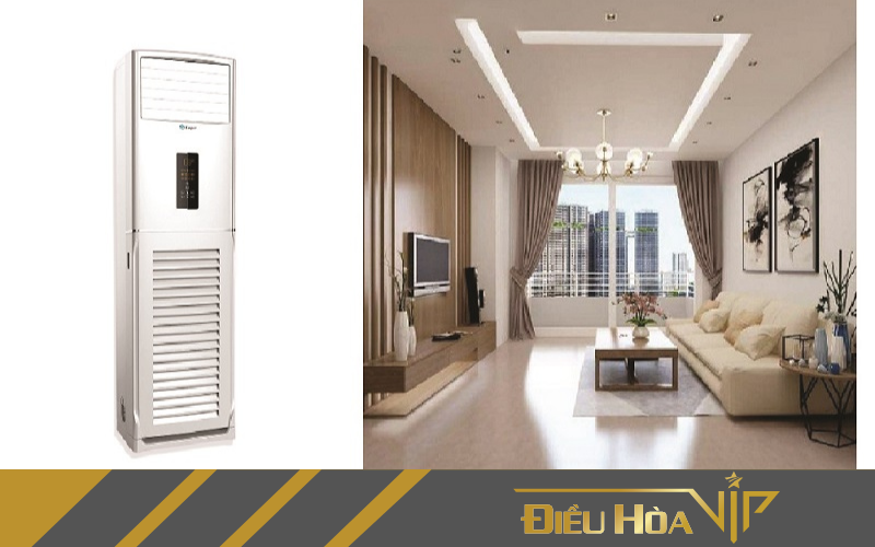 Khả năng tiết kiệm điện vượt trội của máy điều hòa tủ Casper giúp tiết kiệm phần lớn chi phí điện năng