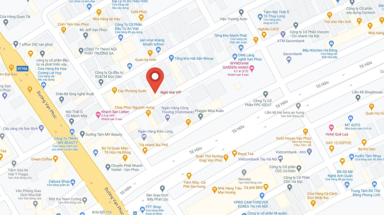 Bản đồ Ngôi nhà VIP