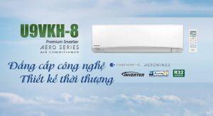 Panasonic U9VKH-8, công nghệ đẳng cấp thiết kế thời thượng