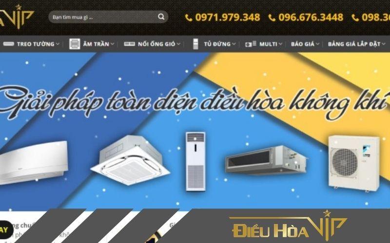 Dieuhoa.vip - địa chỉ tìm mua máy điều hòa âm trần funiki chính hãng
