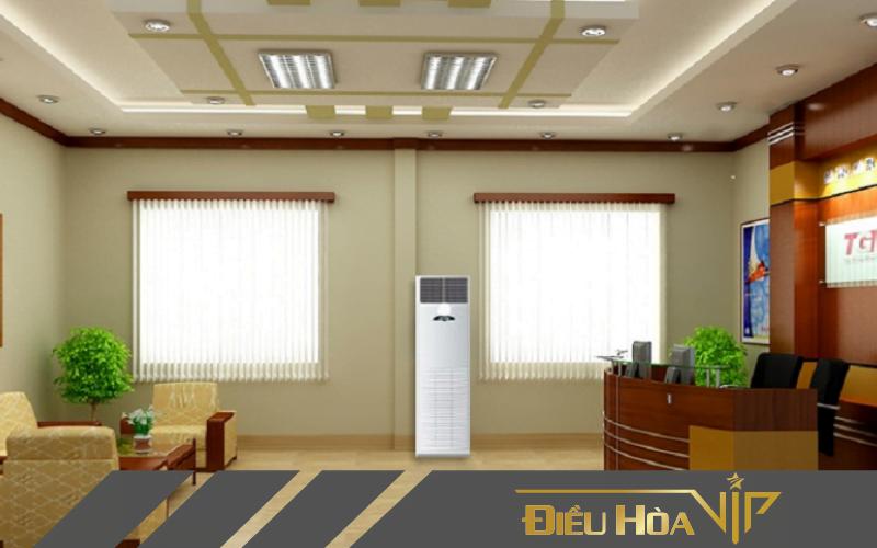 Tủ điều hòa đứng LG có thiết kế sang trọng mang lại tính thẩm mỹ cao cho cả căn phòng, màu sắc vô cùng trang nhã phù hợp với nhiều loại kiến trúc khác nhau.